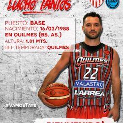 Luciano Tantos, nueva cara de Unión